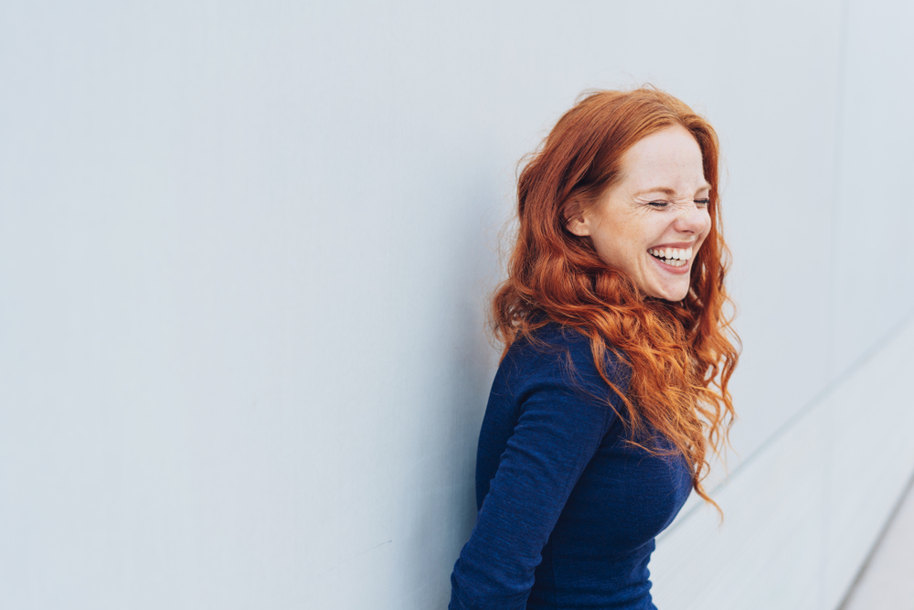 happy girl smiling – setting relationship boundaries in your life