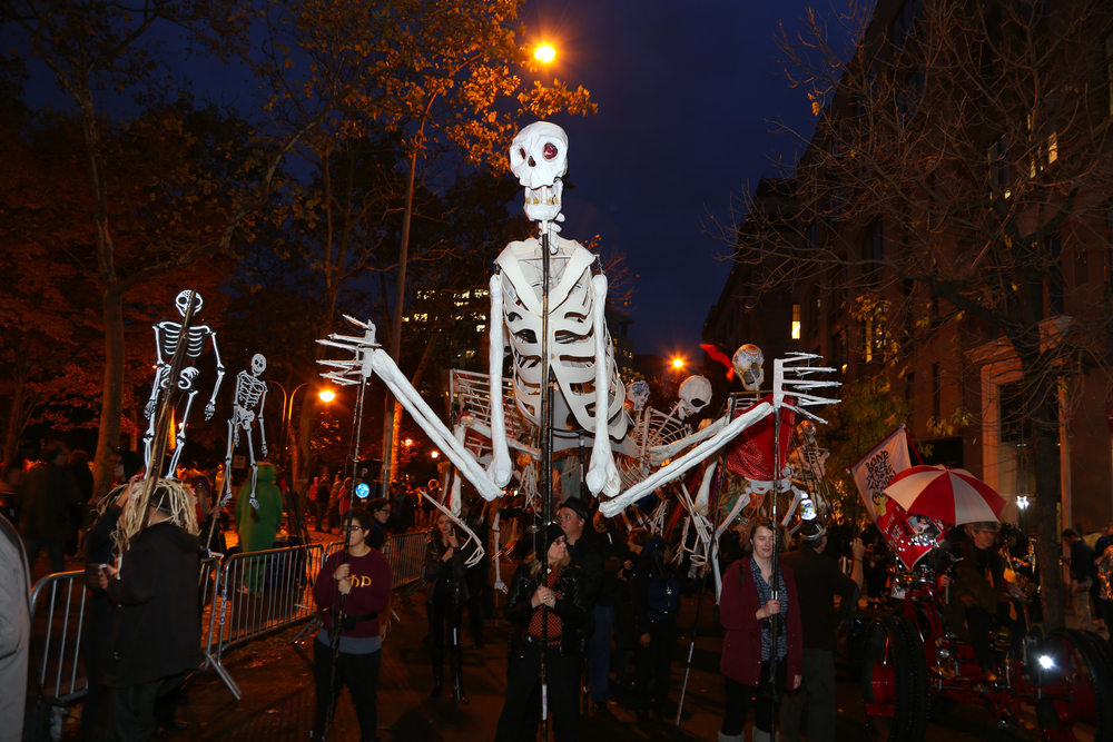The annual Village Halloween Parade in New York City best destination for celebrating Halloween