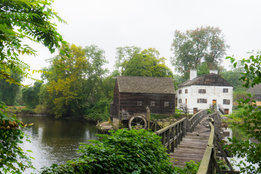 Philipsburg Manor in Sleepy Hollow, New York - destination for celebrating Halloween