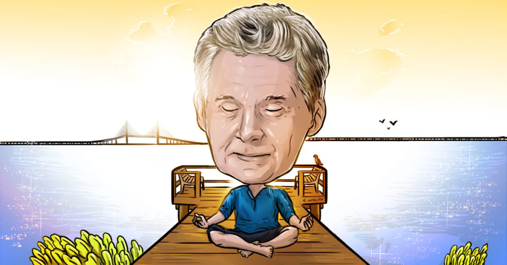 Ed Kopko consecutively meditating