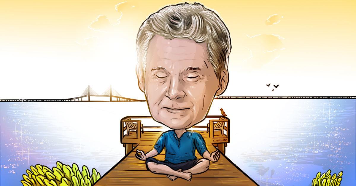 Ed Kopko consecutively meditating