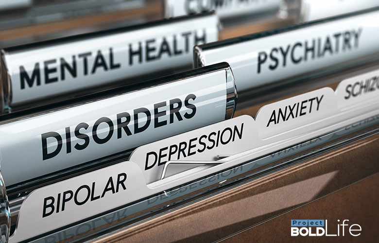 A bunch of psychiatric files