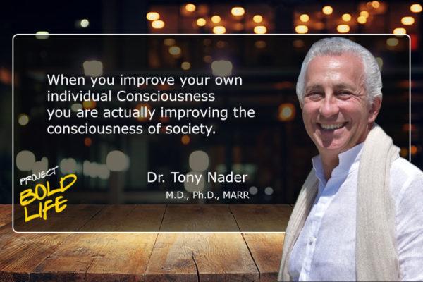 Dr. Tony Nader is the leader of the Transcendental Meditation Movement
